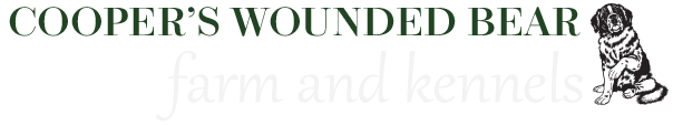 Coopers Wounded Bear Farm And Kennels logo